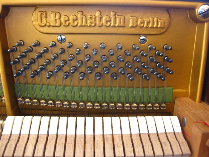 Antique c bechstein upright piano fully restored at our for Piano house classics