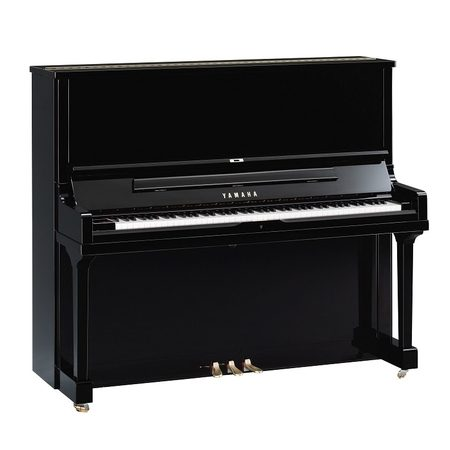 Yamaha SE 132 Upright Piano Polished Ebony