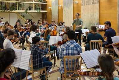 Marryat Players Chamber Orchestra rehearsal