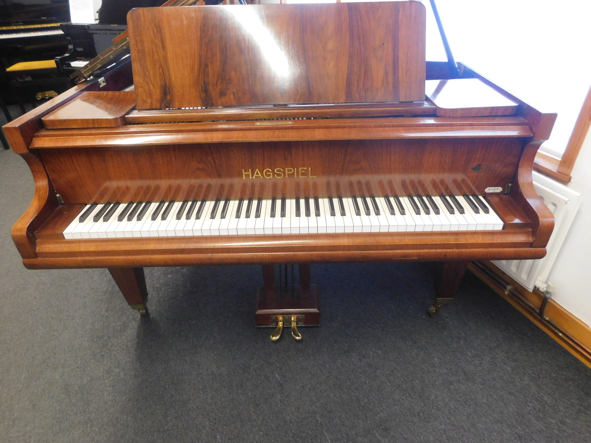 Hagspiel Baby Grand Piano Hanna Pianos South West London Yamaha