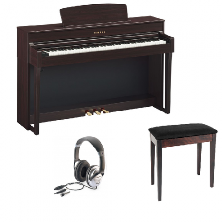 Yamaha Clavinova CLP 645 Digital Piano Bundle
