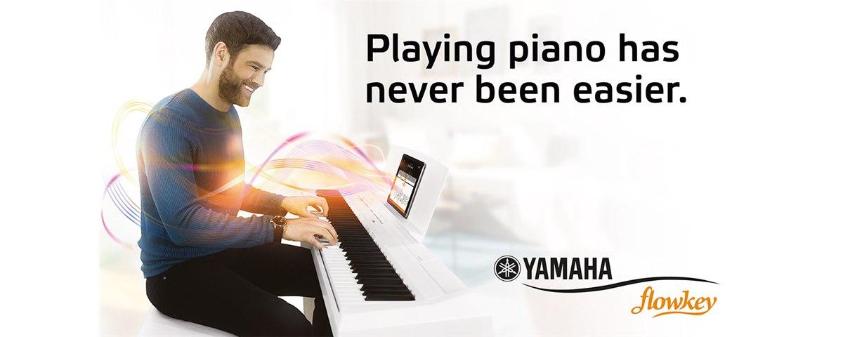Yamaha & Flowkey