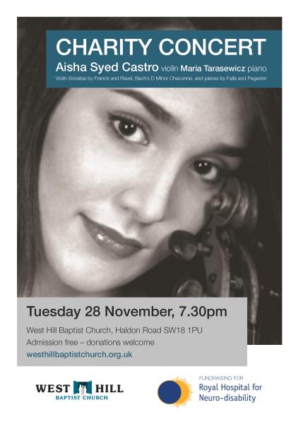 Aisha Syed's Charity Concert