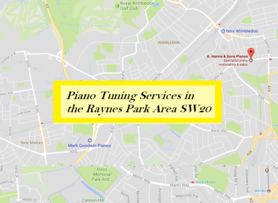 Piano Tuning Services in Raynes Park SW20