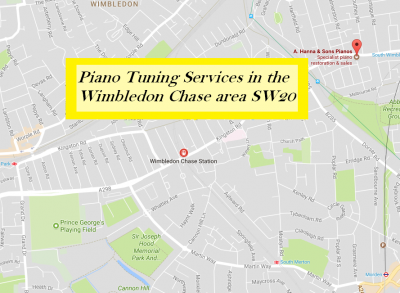Piano Tuning Services in Wimbledon Chase SW20