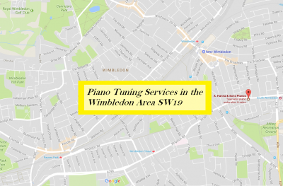 Piano tuning services in Wimbledon SW19