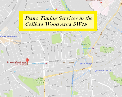 Piano Tuning Services in Colliers Wood SW19