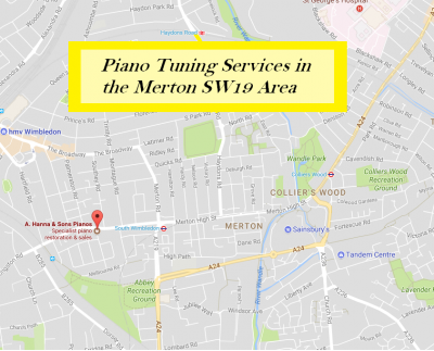 Piano Tuning Services in Merton SW19