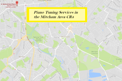 Piano Tuning Services in Mitcham CR4