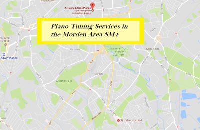Piano Tuning Services in Morden SM4