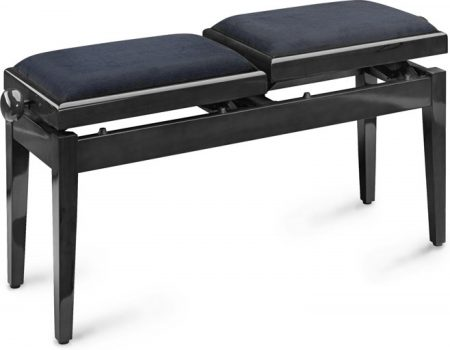 Stagg twin stool black