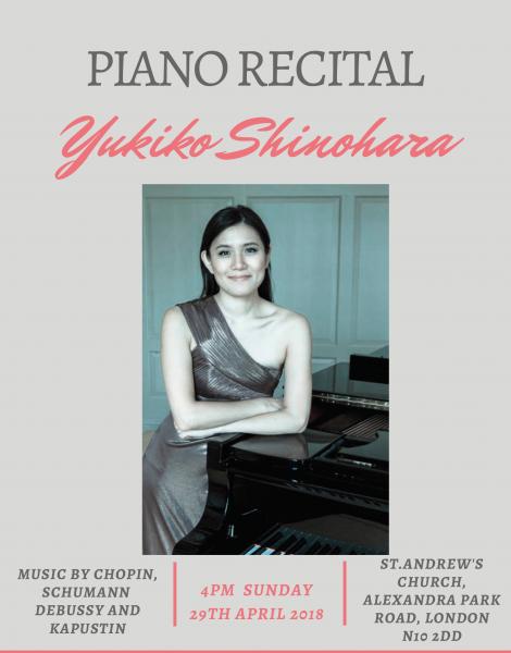 Piano Recital - Yukiko Shinohara