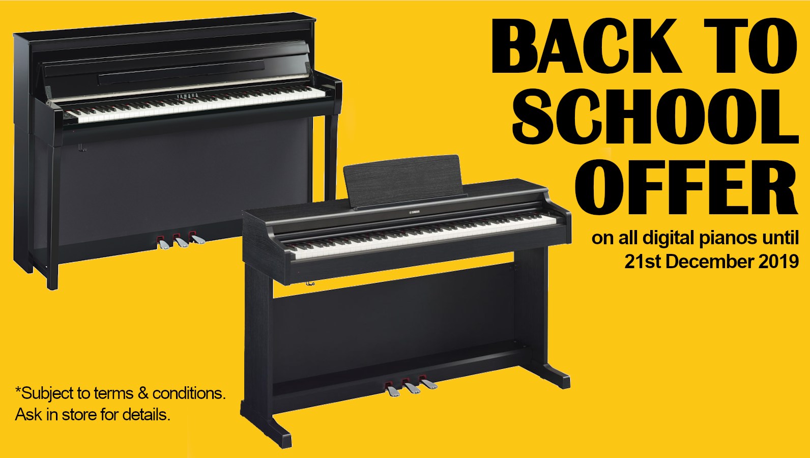 Back to School Digital Pianos Offer 2019