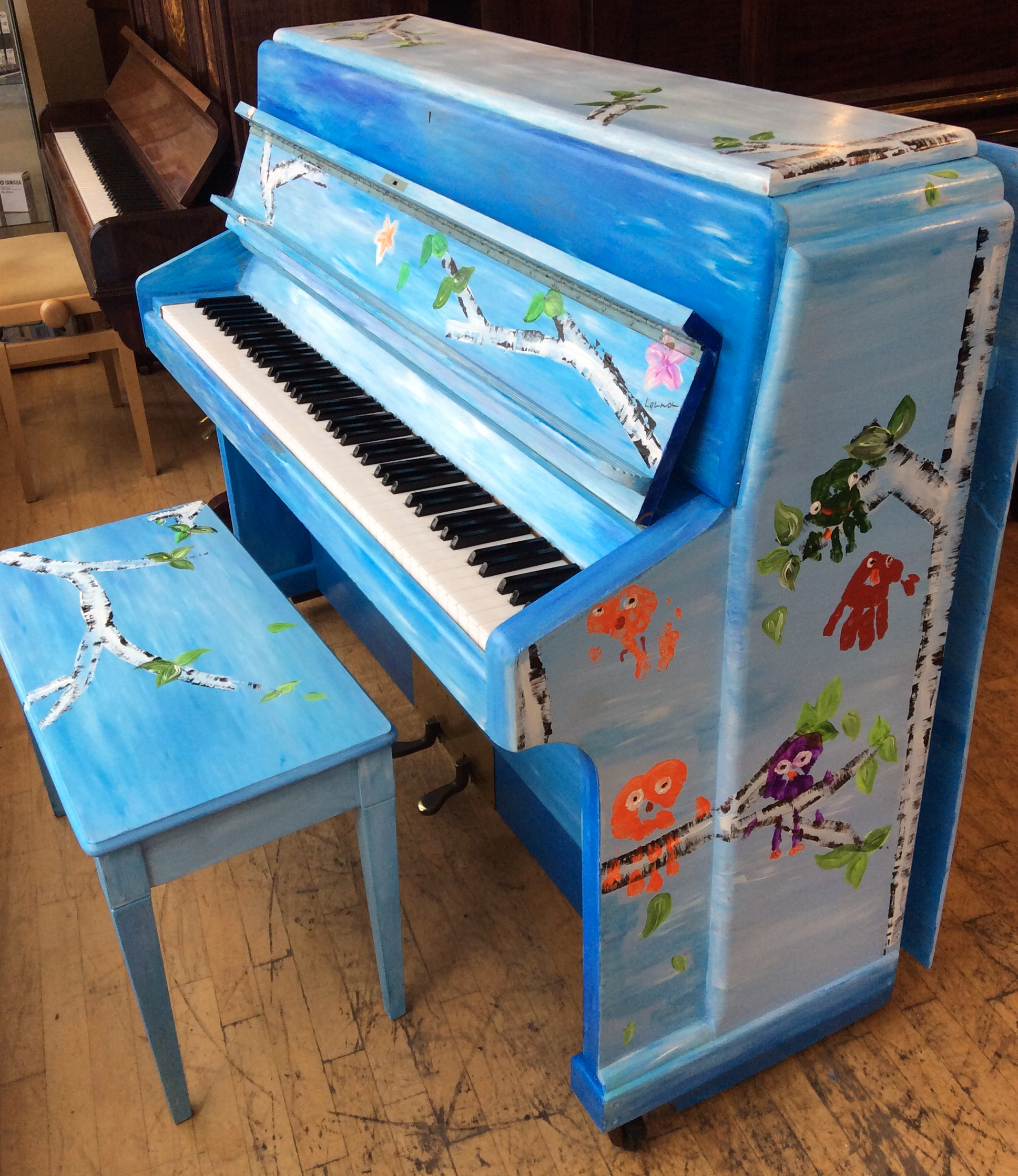 Morley Painted Upright