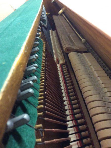 Kemble London Upright Acoustic Piano Internal, 1970