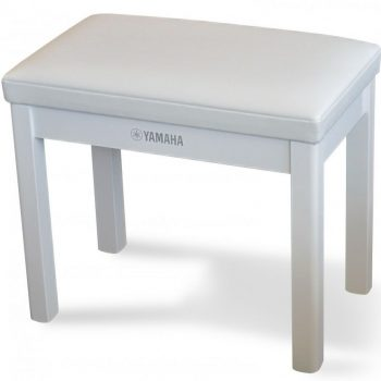 Yamaha GTB Polished White Piano Bench