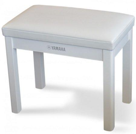 Yamaha GTB Polished White Piano Bench