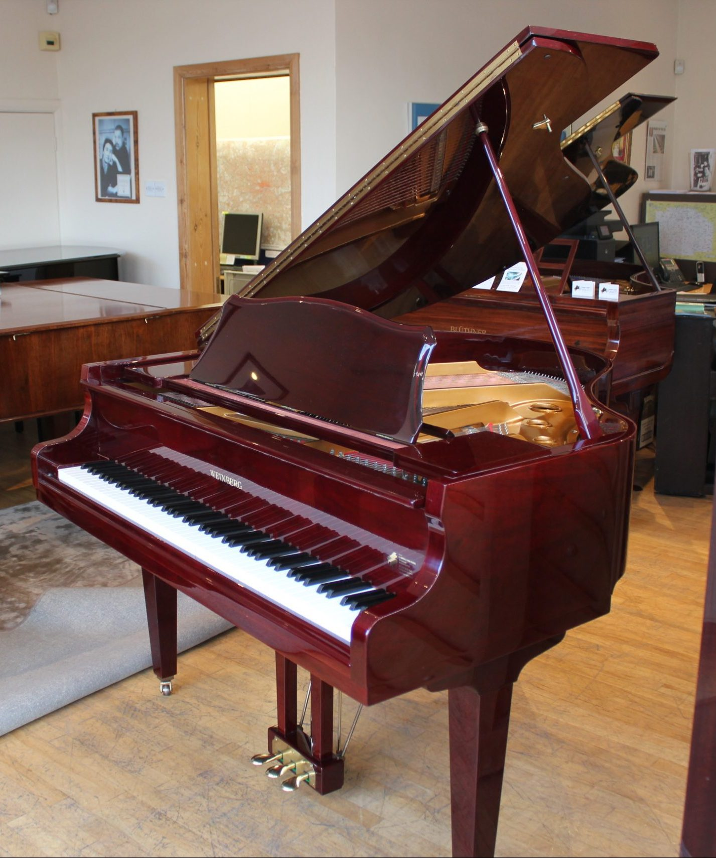 Weinberg G-55 Mini Baby Grand Piano | A. Hanna & Sons Pianos