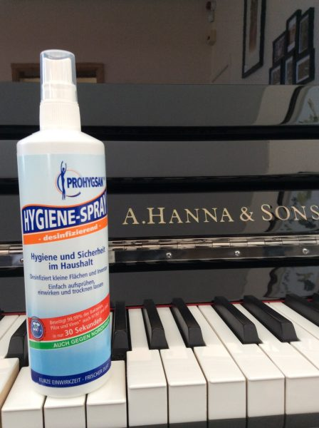 PROHYGSAN – HYGIENE SPRAY - Piano Cleaner Anti-bacterial spray