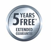 5 Years FREE Extended Guarantee from Yamaha