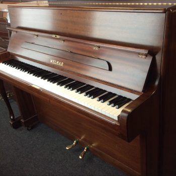 Welmar London Upright Acoustic Piano in Mahogany Satin, 1965